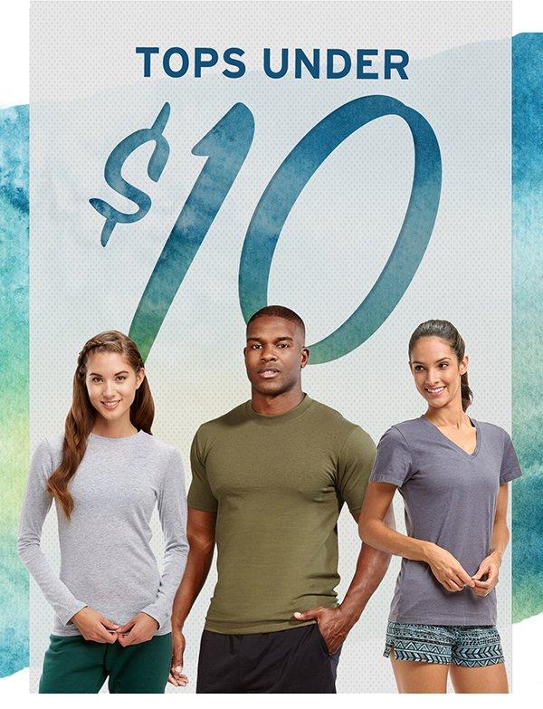 Tops Under $10