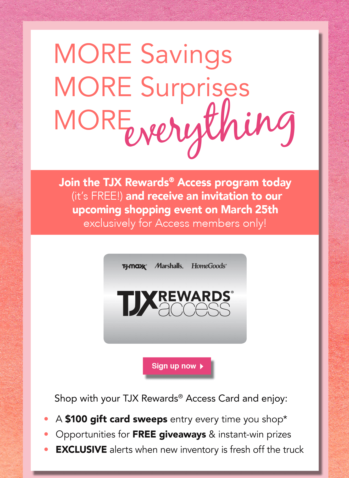 Log in to your TJX credit card account online to pay your bills, check your FICO score, sign up for paperless billing, and manage your account preferences.