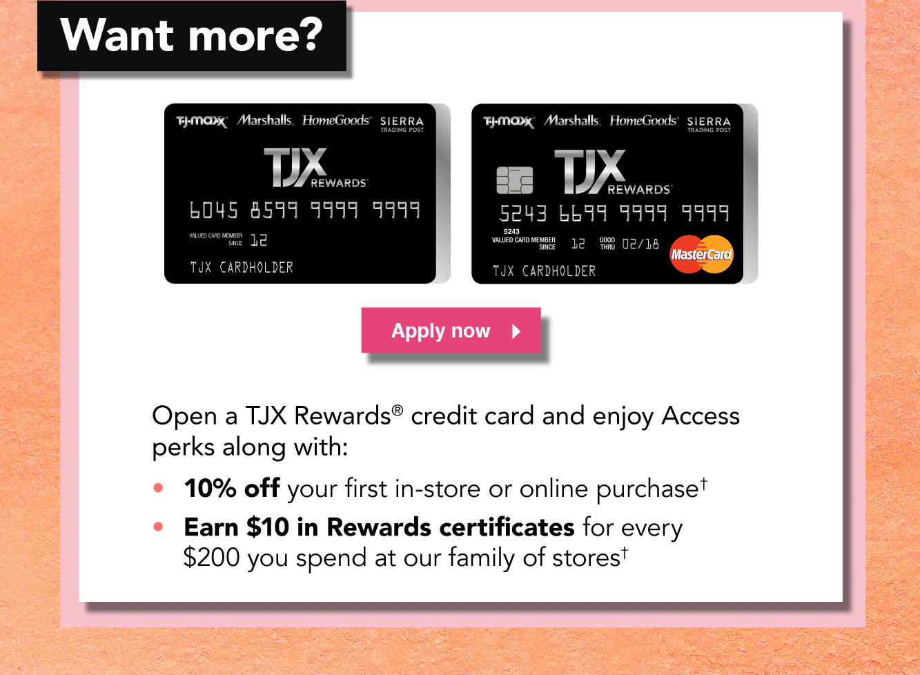 TJ Maxx : Private Shopping Exclusive - Join TJX Rewards Today
