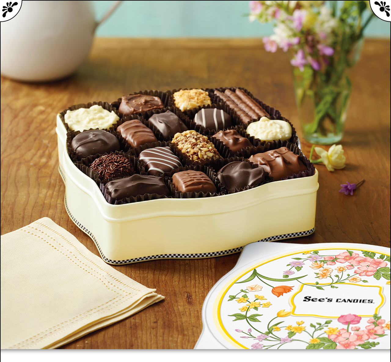 See's Candies, Inc.: Send sweet spring well-wishes: Wildflower ...
