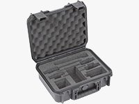 iSeries Waterproof Case for 2 Sennheiser ENG Systems/2 Sony UWP Systems