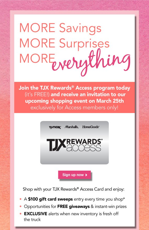 Home Goods  Private Shopping Exclusive   Join TJX Rewards Today    Milled. Home Goods  Private Shopping Exclusive   Join TJX Rewards Today