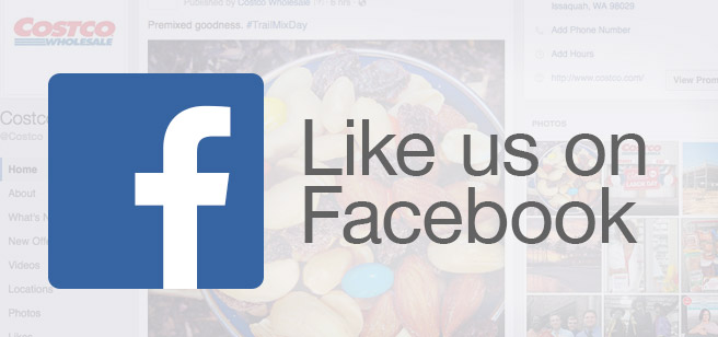 Like us on Facebook to discover the lateston special events,warehouse  openings, Costco Travel