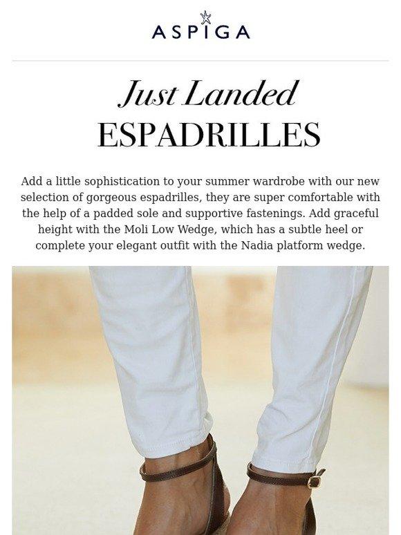 386a5b728d7 Aspiga : Step Up In Our New Platform Espadrilles | Plus - It's ...