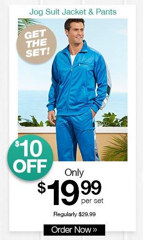 Shop Men's Active Joe Jog Suit