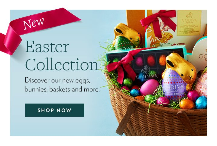 Godiva extended free shipping on spring easter gifts milled free standard shipping on select springeaster gifts negle Choice Image