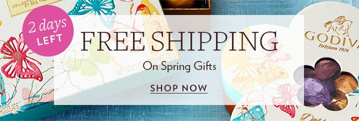 Godiva extended free shipping on spring easter gifts milled free shipping on spring easter gifts milled negle Gallery