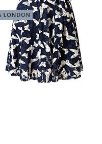 mela-loves-london/mela-london-butterfly-print-skater-dress