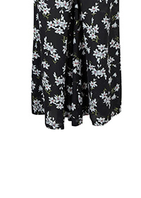Angeleye Floral Print Wide Leg Co Ord Trousers