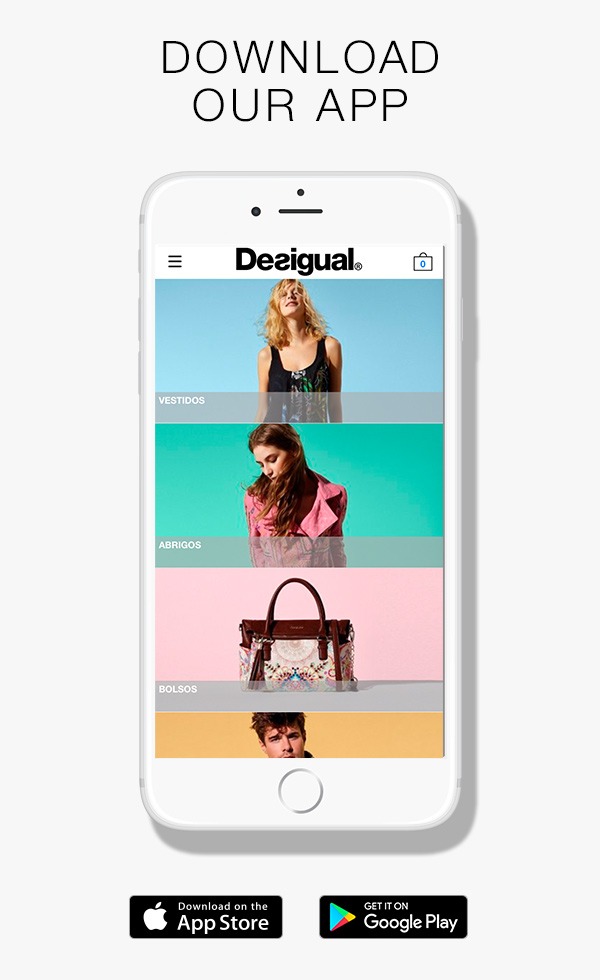 Everything Desigual, right in your pocket