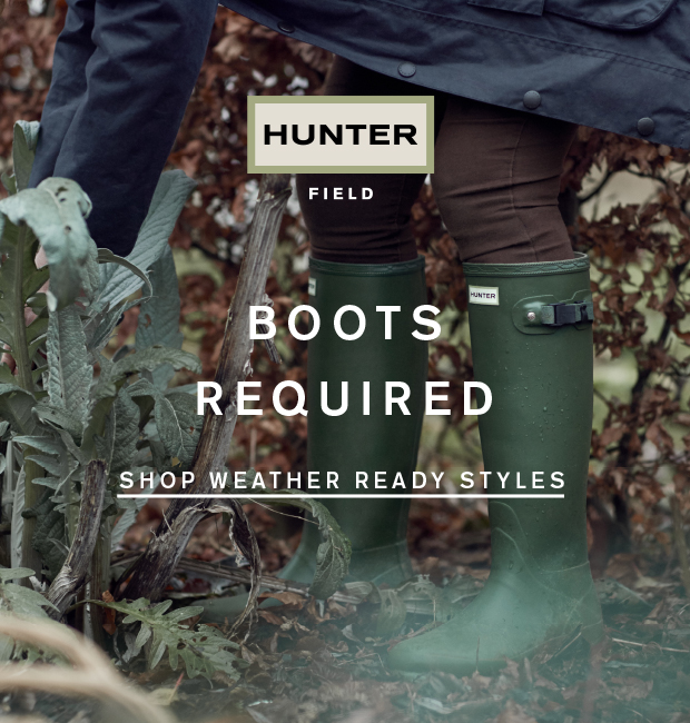 Boots Required: Shop Weather Ready Styles