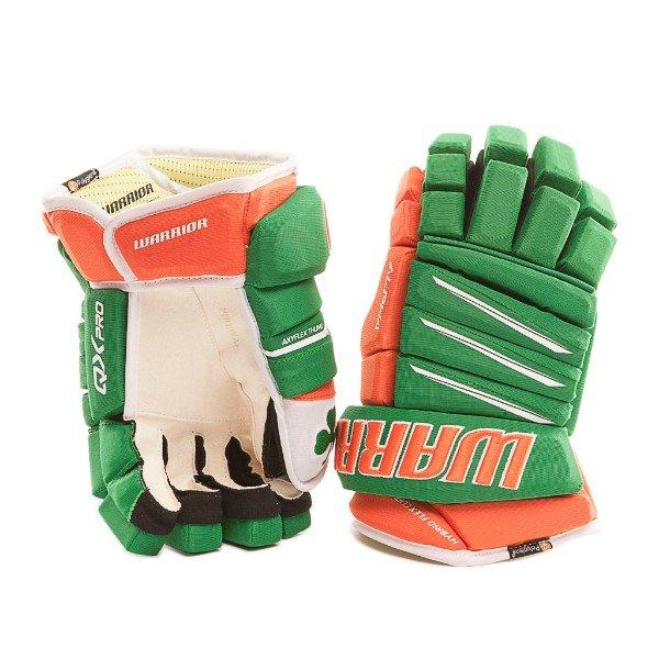Pure Hockey: Custom Warrior Irish Gloves & More St  Paddy's