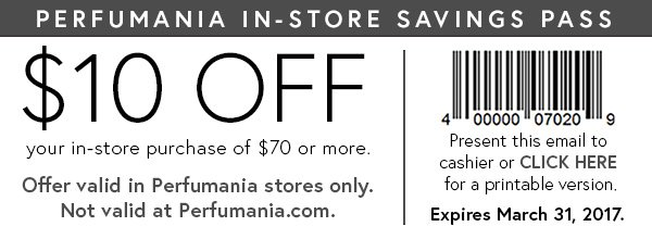 photograph regarding Perfumania Coupon Printable titled Perfumania: ☘ Fortunate Yourself! ☘ 25% Off starts off presently . Milled