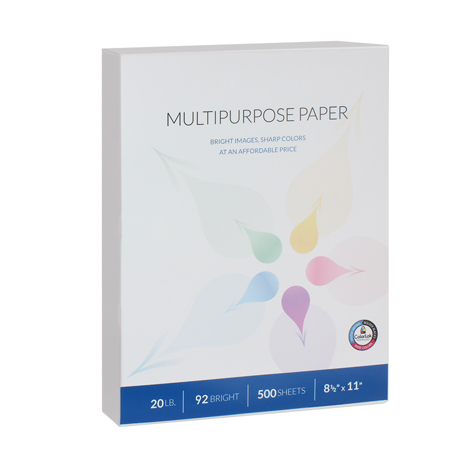 Willcopy Multipurpose Paper, White, 8 1/2 x 11