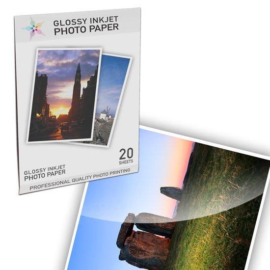 Premium Glossy Photo 20 pack - Resin Coated