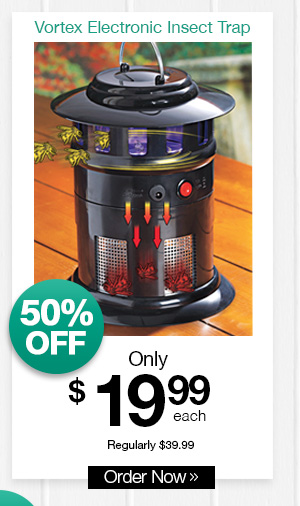 Shop Vortex Electronic Insect Trap