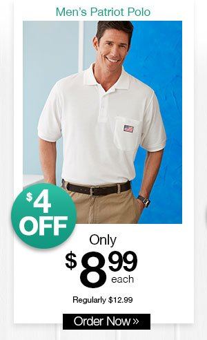 Shop Men's Patriot Polo
