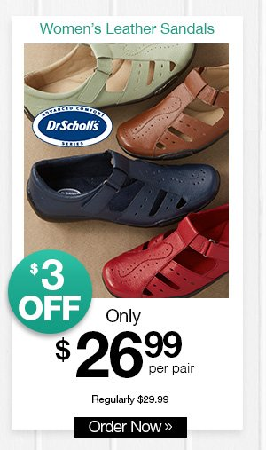 Shop Women's Dr. Scholl's® Leather Fisherman Sandals