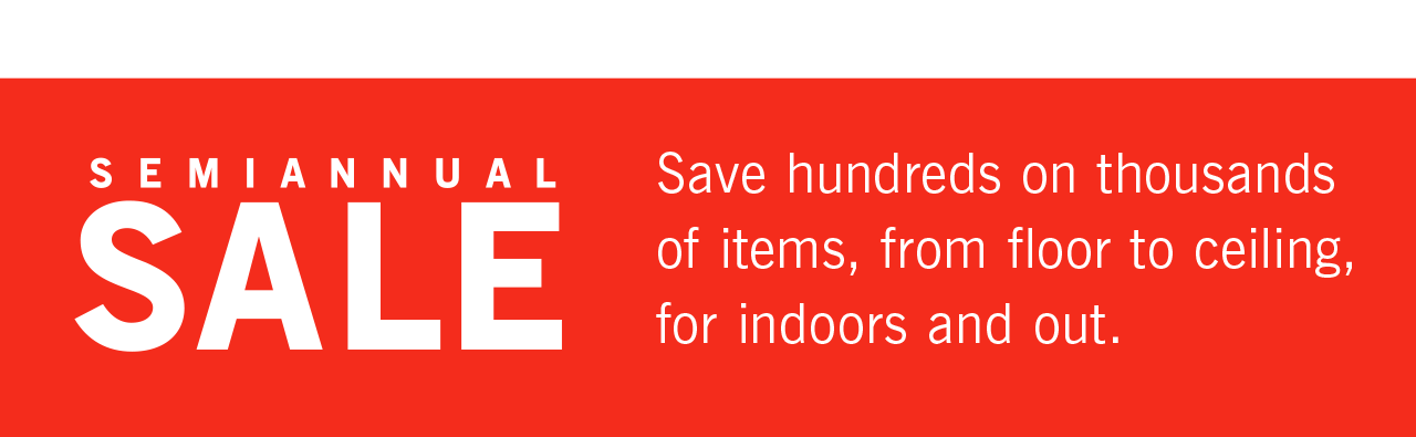 Shop Semiannual Sale