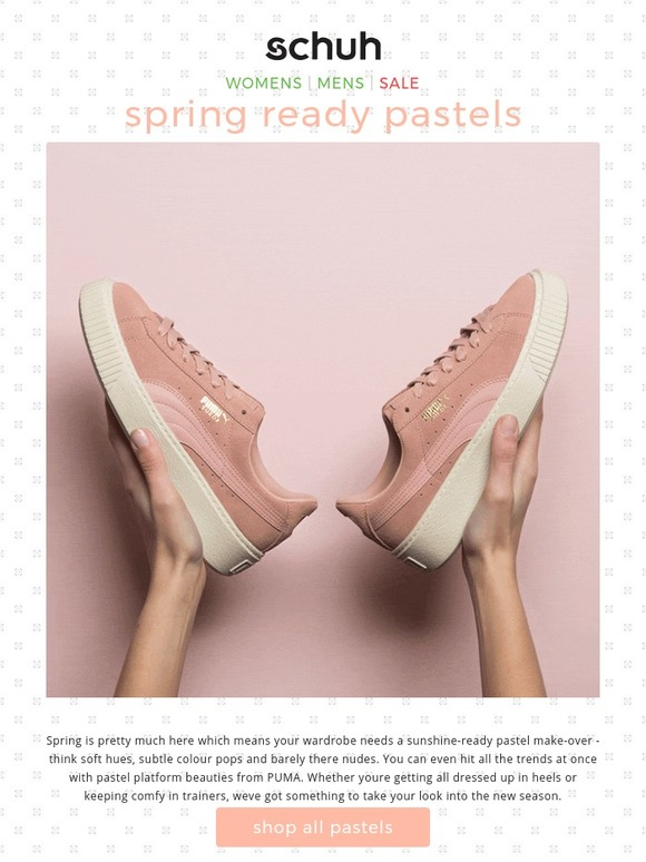 Schuh Ireland: Pass the Pastel Milled  Milled