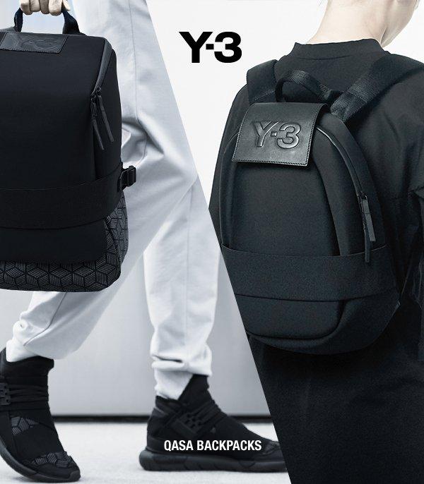 bb85c63eaada The Y-3 Qasa Backpacks combine futuristic design with everyday comfort and  ease