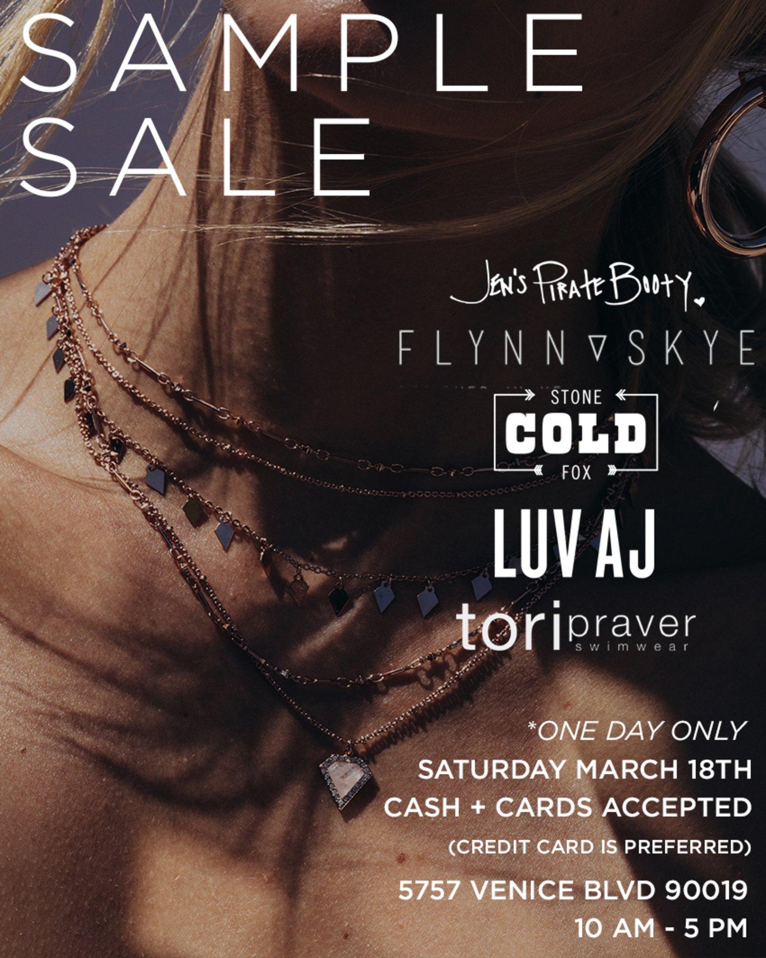 Luv Aj: Sample Sale Today! ✨ with Stone Cold Fox, Tori Praver ...