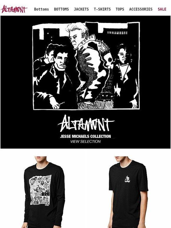 353452f6a Altamont Apparel: Jesse Michaels For Altamont | Milled