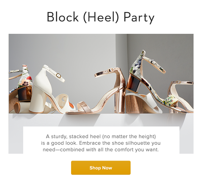 Block (Heel) Party