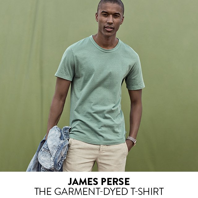 James Perse - The Garment-Dyed T-Shirt