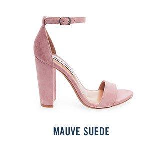 MAUVE SUEDE