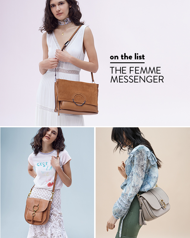 on the list | THE FEMME MESSENGER