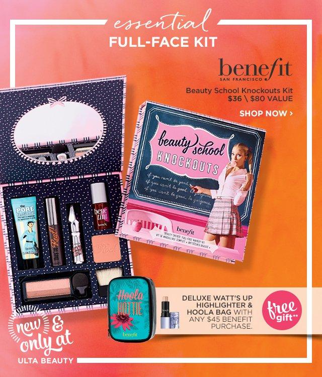 BENEFIT | Beauty School Knockouts Kit $36, plus Free Gift**