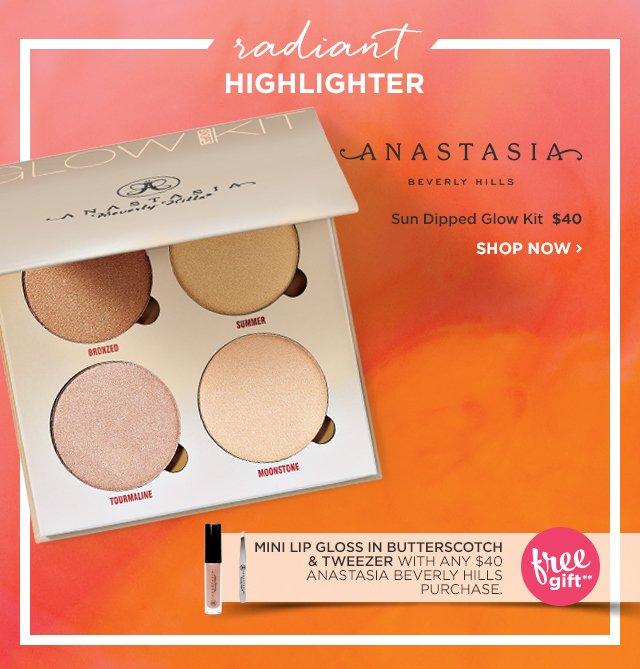 ANASTASIA BEVERLY HILLS | Sun Dipped Glow Kit $40, Plus Free Gift**