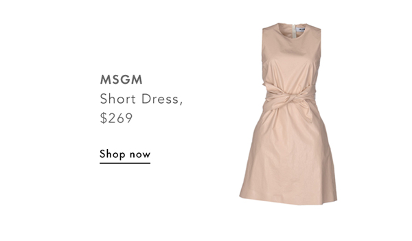 MSGM, Short Dress