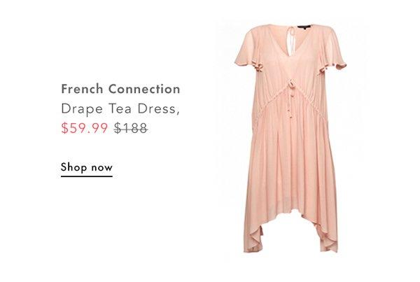 French Connection, Drape Tea Dress