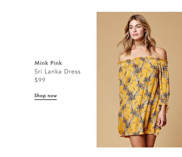 Mink Pink, Sri Lanka Dress