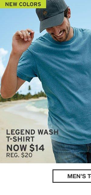 LEGEND WASH T-SHIRT | MEN'S T-SHIRTS