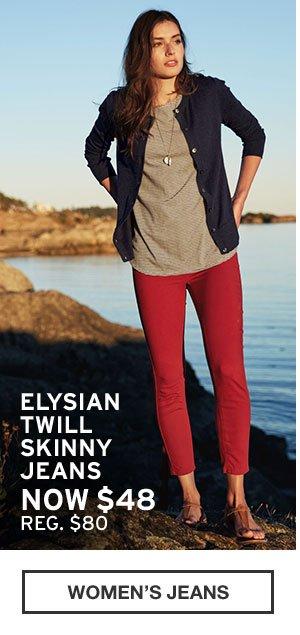 ELYSIAN TWILL SKINNY JEANS | WOMEN'S JEANS