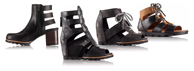 Booties and sandals with cutouts add unexpected edge. Shop now.