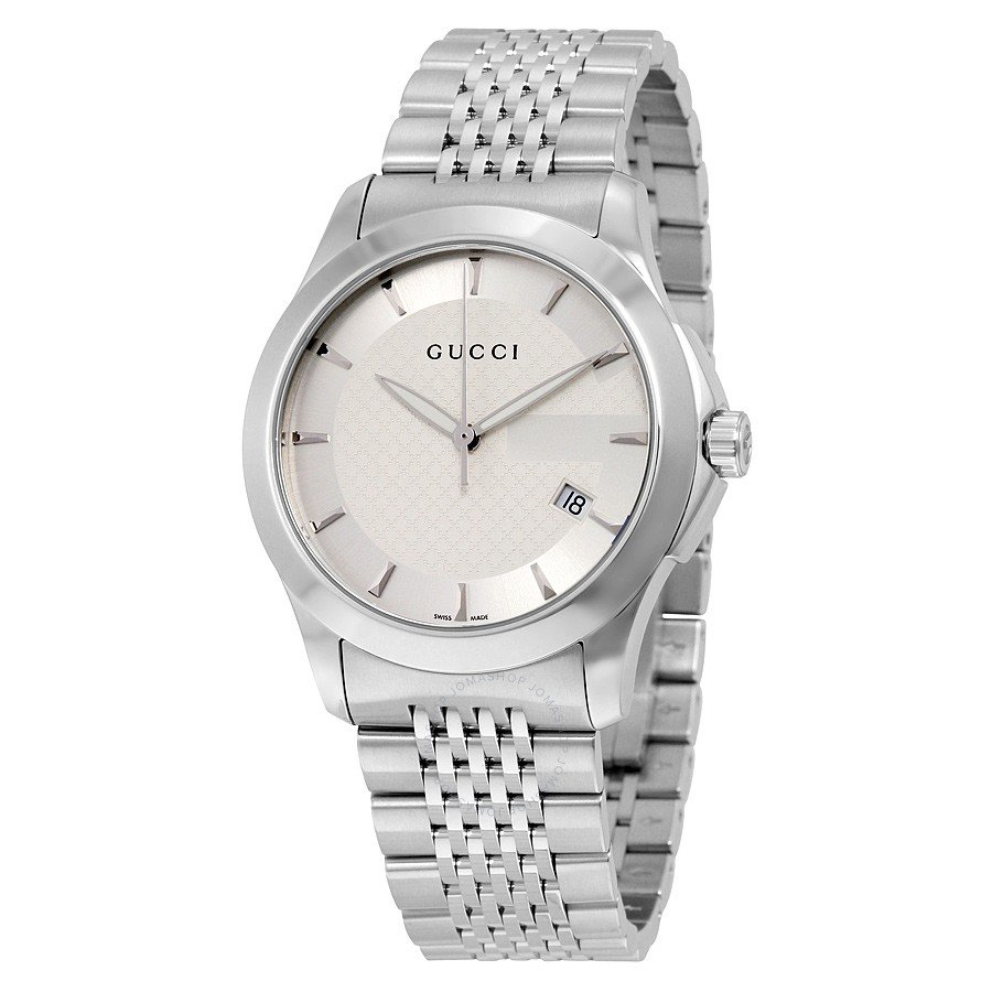 1eafee3e086 JOMASHOP  Price Drop Alert  Gucci G Timeless Men s Stainless Steel ...