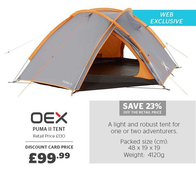 OEX Puma II Tent