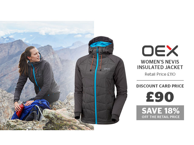 OEX Women's Nevis Insulated Jacket