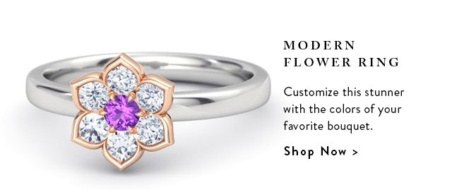 Shop The Modern Flower Ring