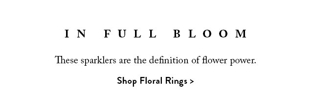 Shop All Floral Rings