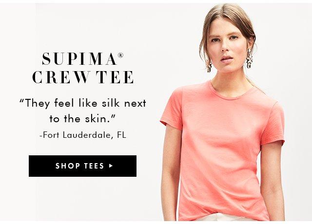 SUPIMA CREW TEE | SHOP TEES