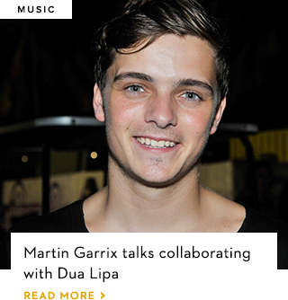 Martin Garrix talks