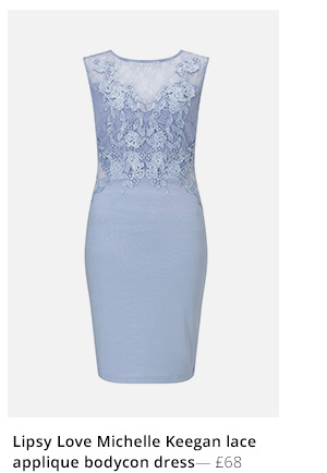LIPSY LOVE MICHELLE KEEGAN BODYCON DRESS