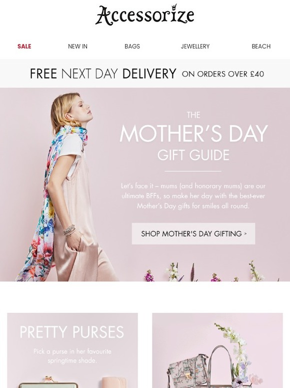 Accessorize: The best-ever Mother's Day gifts + FREE next ...