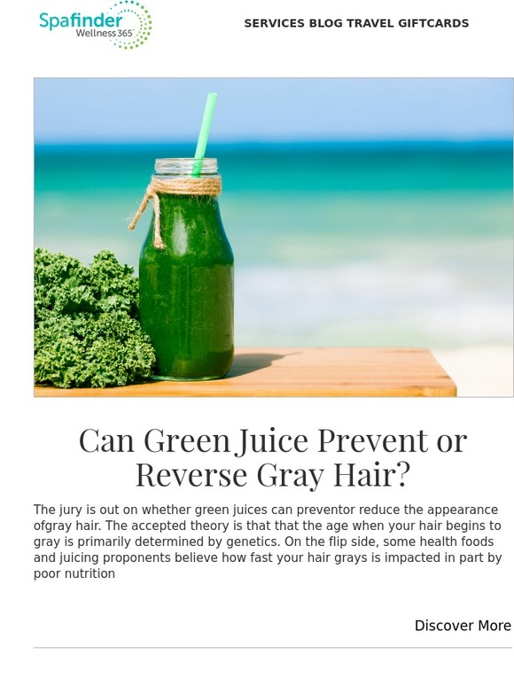 SpaFinder Wellness 365: Myth or Fact: Can Green Juice