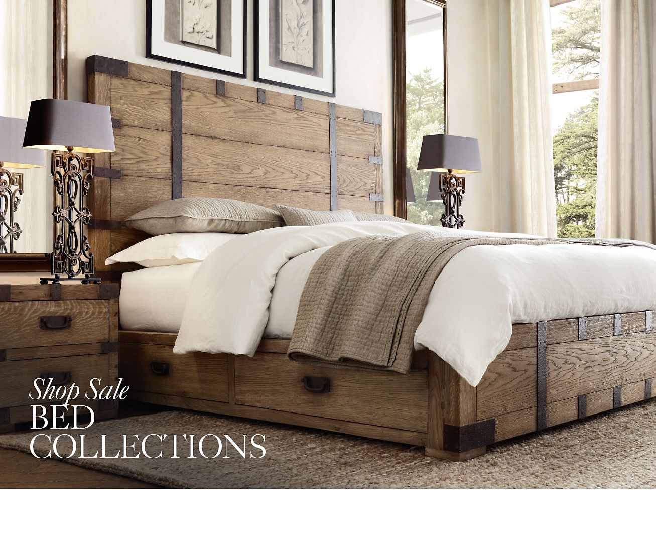 Restoration Hardware Sale: Restoration Hardware: The Spring Clearance Sale. Save Up
